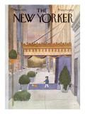 The New Yorker Cover - March 8, 1976 Regular Giclee Print by Charles E. Martin