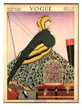 Vogue Cover - June 1914 Regular Giclee Print by Helen Dryden