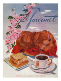 Gourmet Cover - April 1944 Premium Giclee Print by Henry Stahlhut