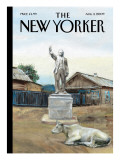 The New Yorker Cover - August 3, 2009 Regular Giclee Print by Alex Melamid