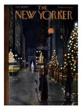 The New Yorker Cover - December 10, 1955 Premium Giclee Print by  Alain