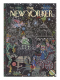 The New Yorker Cover - December 23, 1974 Regular Giclee Print by William Steig