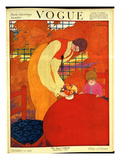 Vogue Cover - October 1918 Regular Giclee Print by Georges Lepape