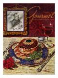 Gourmet Cover - November 1949 Regular Giclee Print by Henry Stahlhut