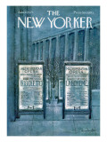 The New Yorker Cover - January 27, 1973 Premium Giclee Print by Laura Jean Allen