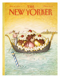 The New Yorker Cover - July 16, 1990 Premium Giclee Print by John O'brien
