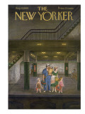 The New Yorker Cover - August 13, 1949 Regular Giclee Print by Edna Eicke