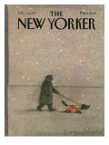 The New Yorker Cover - February 16, 1987 Regular Giclee Print by Eugène Mihaesco
