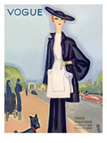 Vogue Cover - March 1934 Regular Giclee Print by Eduardo Garcia Benito