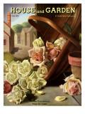House & Garden Cover - June 1935 Regular Giclee Print by John C. E. Taylor