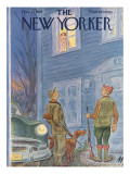 The New Yorker Cover - November 21, 1953 Premium Giclee Print by Julian de Miskey