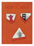 The New Yorker Cover - November 2, 1981 Regular Giclee Print by R.O. Blechman