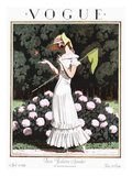 Vogue Cover - April 1924 Regular Giclee Print by Pierre Brissaud