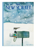 The New Yorker Cover - March 10, 1980 Regular Giclee Print by Eugène Mihaesco