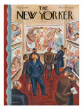 The New Yorker Cover - February 3, 1940 Regular Giclee Print by Virginia Snedeker