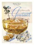 Gourmet Cover - June 1945 Regular Giclee Print by Henry Stahlhut