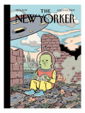 The New Yorker Cover - June 8, 2009 Premium Giclee Print by Dan Clowes