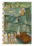 The New Yorker Cover - June 9, 1928 Premium Giclee Print by Ilonka Karasz
