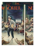 The New Yorker Cover - August 8, 1942 Regular Giclee Print by Constantin Alajalov