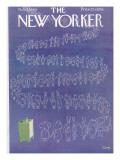 The New Yorker Cover - November 5, 1960 Regular Giclee Print by Charles E. Martin