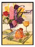 Gourmet Cover - April 1948 Regular Giclee Print by Henry Stahlhut