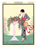 Vogue Cover - June 1913 Premium Giclee Print by Helen Dryden