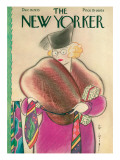 The New Yorker Cover - December 16, 1933 Premium Giclee Print by Rea Irvin