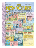 The New Yorker Cover - April 6, 2009 Regular Giclee Print by Roz Chast