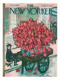 The New Yorker Cover - November 8, 1958 Premium Giclee Print by Abe Birnbaum