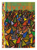 The New Yorker Cover - January 2, 1965 Regular Giclee Print by Abe Birnbaum