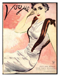 "Vogue Cover - September 1933 Regular Giclee Print by Carl ""Eric"" Erickson"