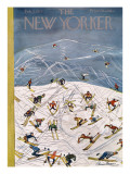 The New Yorker Cover - February 5, 1955 Premium Giclee Print by Ludwig Bemelmans