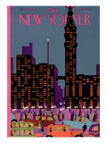 The New Yorker Cover - March 2, 1929 Premium Giclee Print by Adolph K. Kronengold