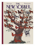 The New Yorker Cover - February 12, 1938 Premium Giclee Print by Constantin Alajalov