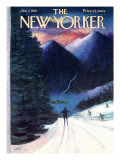 The New Yorker Cover - January 7, 1961 Premium Giclee Print by Charles E. Martin