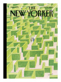The New Yorker Cover - October 2, 2006 Premium Giclee Print by Jean-Jacques Semp&#233;