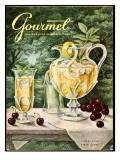 Gourmet Cover - June 1956 Regular Giclee Print by Hilary Knight