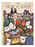 The New Yorker Cover - December 1, 1956 Premium Giclee Print by Abe Birnbaum
