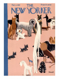 The New Yorker Cover - February 8, 1930 Premium Giclee Print by Theodore G. Haupt