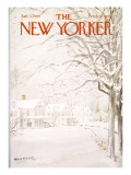 The New Yorker Cover - January 4, 1969 Premium Giclee Print by Albert Hubbell