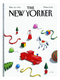 The New Yorker Cover - December 24, 1984 Regular Giclee Print by Pierre LeTan