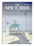 The New Yorker Cover - December 3, 1984 Premium Giclee Print by Susan Davis