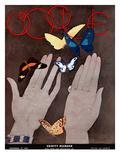 Vogue Cover - November 1931 Regular Giclee Print by Georges Lepape