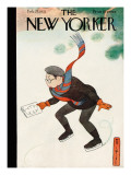 The New Yorker Cover - February 25, 1933 Premium Giclee Print by Rea Irvin