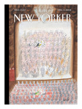 The New Yorker Cover - April 14, 2008 Regular Giclee Print by Jean-Jacques Sempé