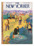 The New Yorker Cover - April 18, 1953 Premium Giclee Print by Garrett Price