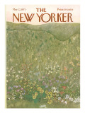 The New Yorker Cover - May 22, 1971 Premium Giclee Print by Ilonka Karasz
