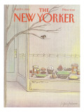 The New Yorker Cover - April 9, 1984 Premium Giclee Print by Eugène Mihaesco