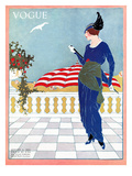 Vogue Cover - August 1913 Regular Giclee Print by Will Hammell