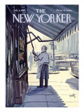 The New Yorker Cover - July 8, 1967 Regular Giclee Print by Arthur Getz
